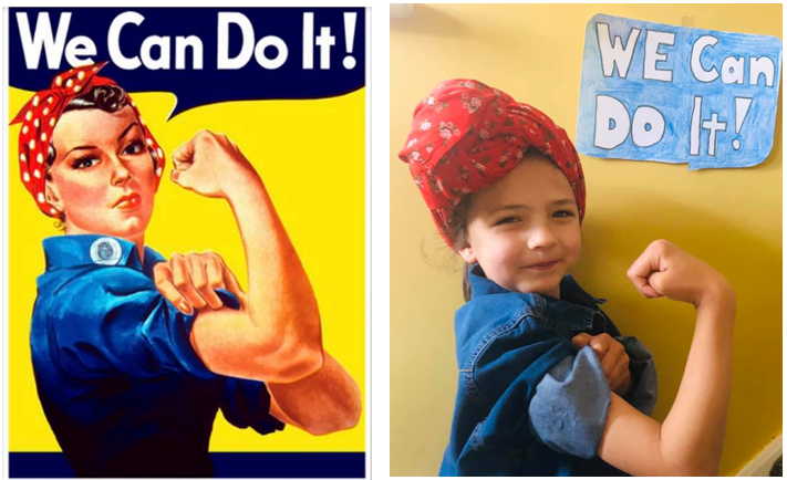 Rosie the Riveter by Arabella / Parrot