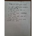 Jakub's instructions