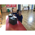 Voting for our class school councillors