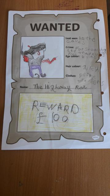 Molly's wanted poster