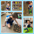 Lukas created a shop at home and added amounts.