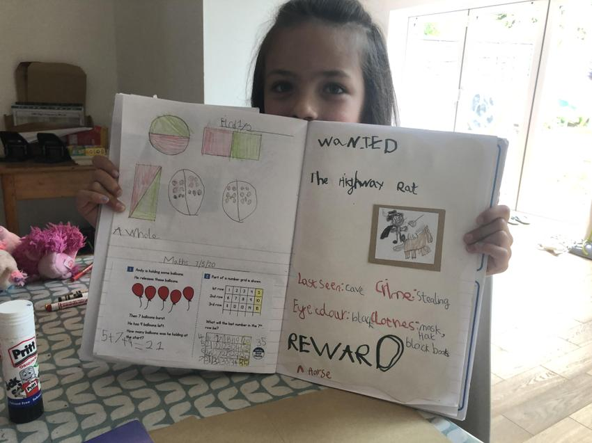 Arabella's wanted poster