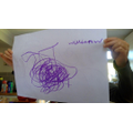 William's art inspired by The Dot.