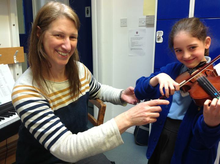 Mrs Snape - Violin and Teacher