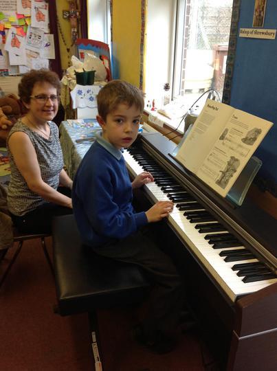 Mrs Allen - Piano Teacher