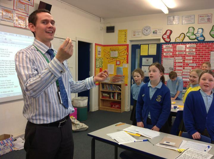 Mr Smith - Stockport Music Service Class Teacher