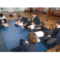 Putting each other in recovery position