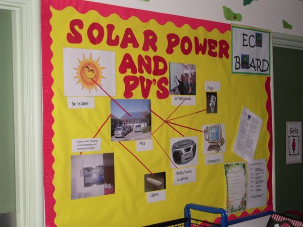 Eco-board - Solar Energy Display 2013