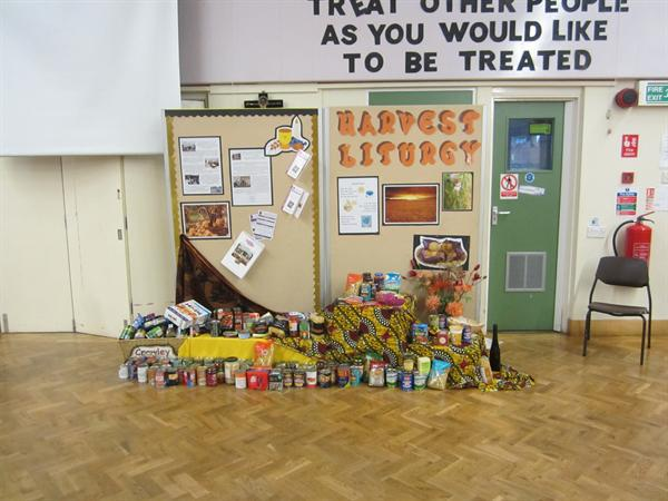 Harvest Donations to Crawley Open House