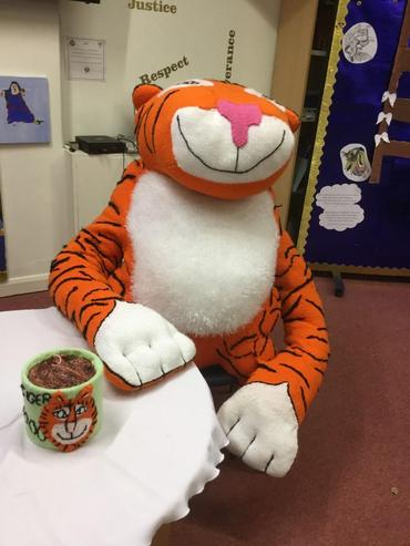 The Tiger Who Came to Tea at Wymondham