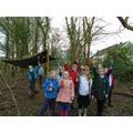 Forest School Fun- nature weaving