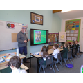 Simon Dell, a local historian, shared his wealth of knowledge about the Saxons with us.