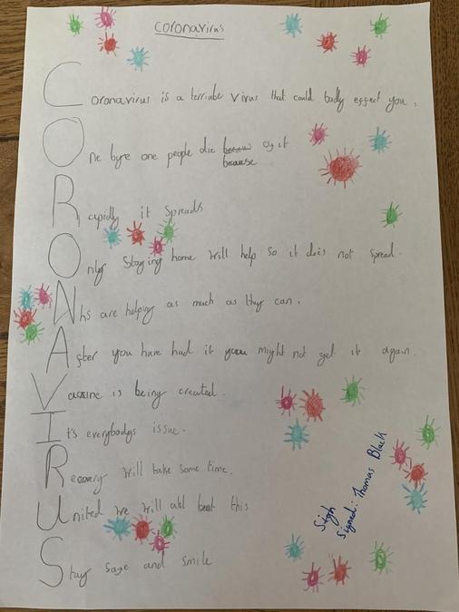 Thomas' Poem