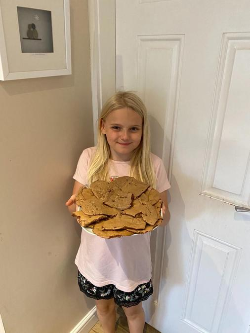 Grace and her fantastic brownies