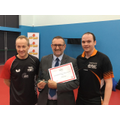 Winner of Regional Contribution to Table Tennis