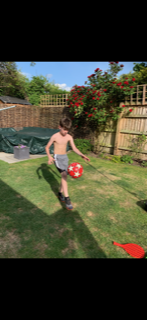 Theo the Footie Champ