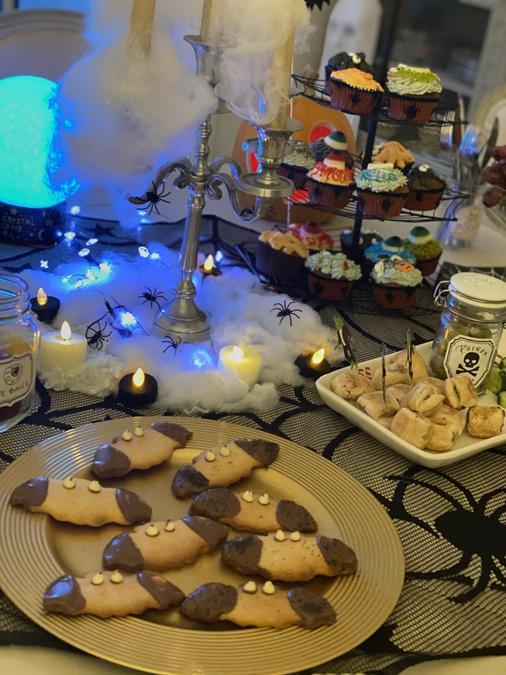 Lottie's Halloween baking