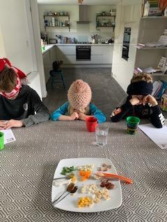 Blind tasting with Oscar, Sebastian and Florence!