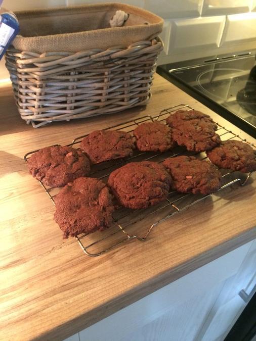 Super yummy cookies created by Georgia