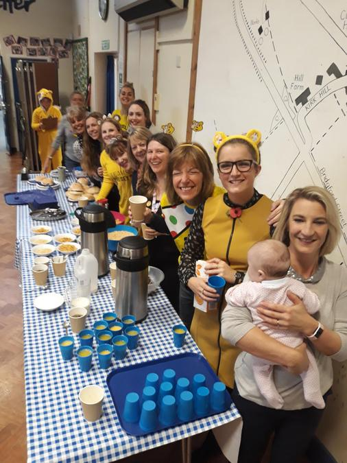 Children in Need story cafe