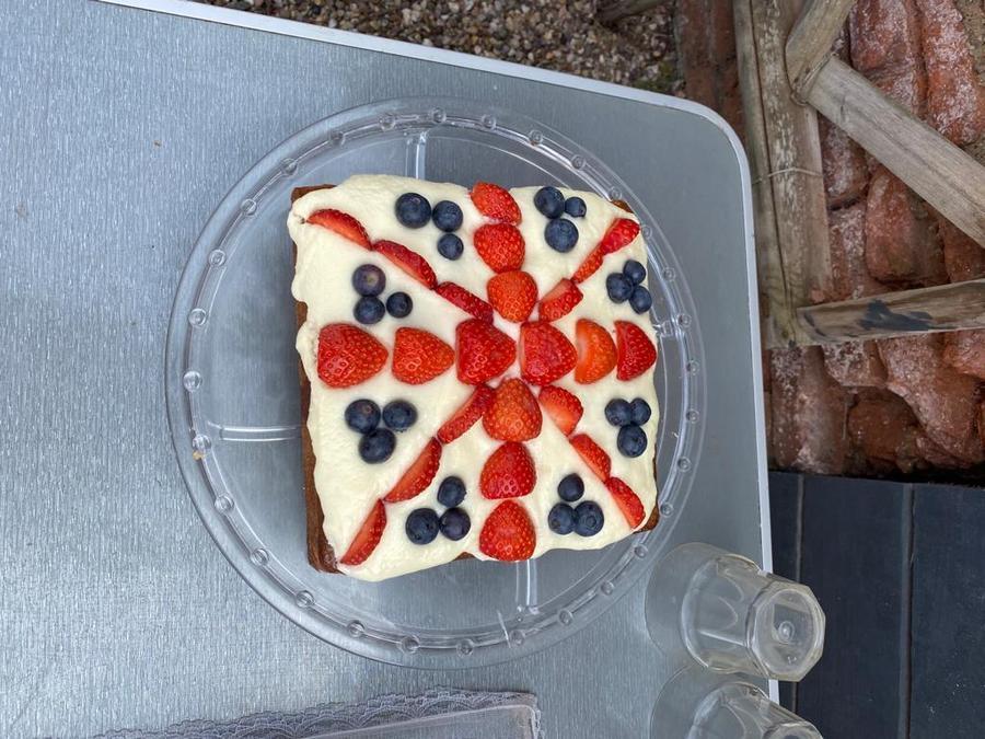 V.E. Day Cake Spectacular at Harry's.