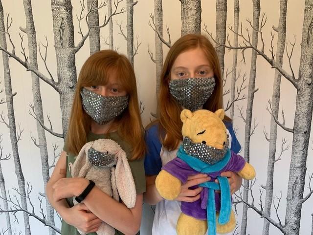 Teddies have masks too!