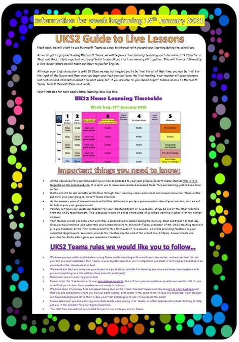 UKS2 Teams Guide (full pdf below)