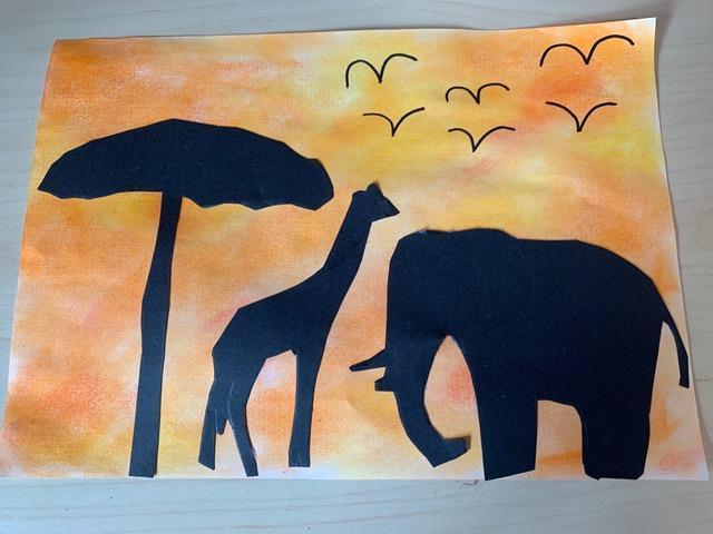 Eleanor's Safari Sunset