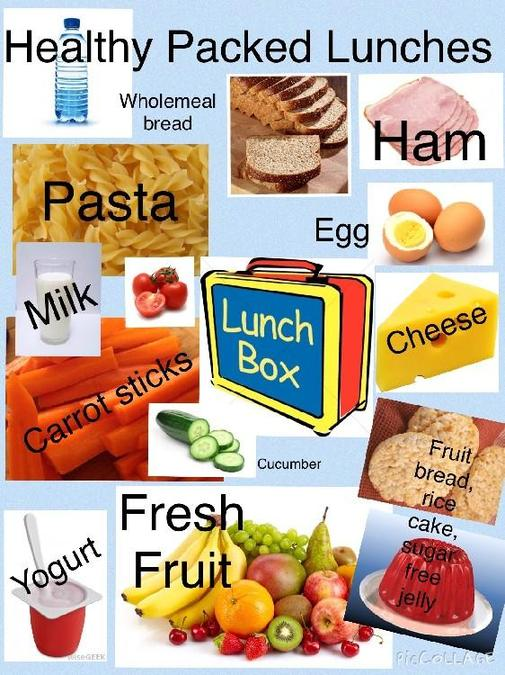 Packed lunch suggestions
