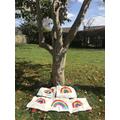 Rainbows made in school