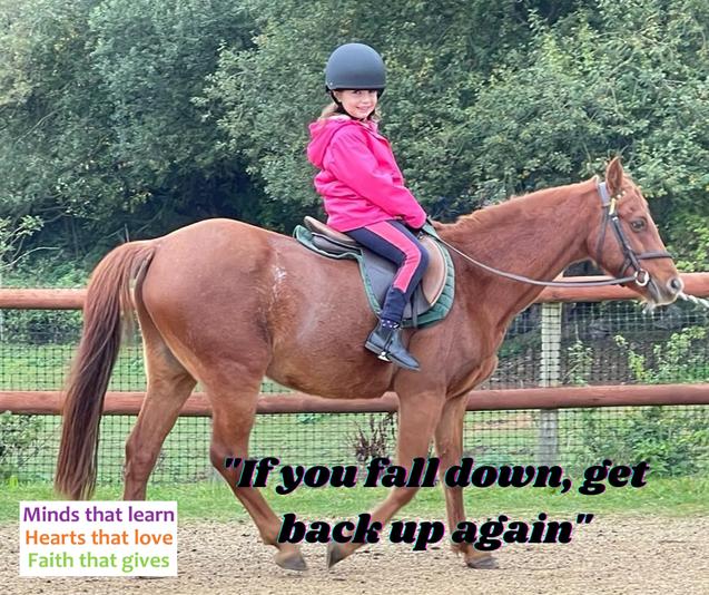 Fun riding lessons
