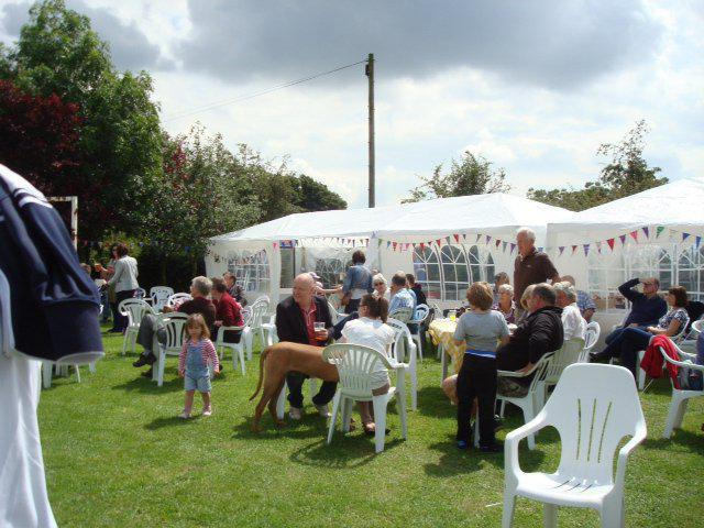 The Summer Fayre Tea Tent