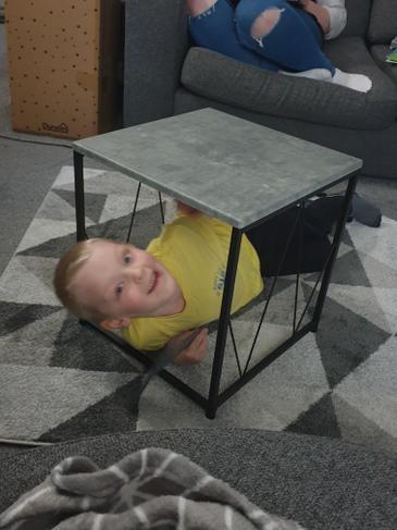 Luke also found cube.