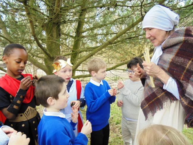 Celts used pine tree sap to scent their homes!