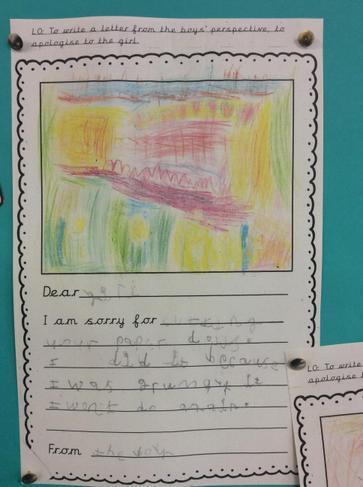 Evie P's letter