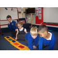 Counting along a number line