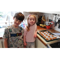 Heidi and Charlie have been baking