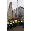 Paying our respects at the Cenotaph