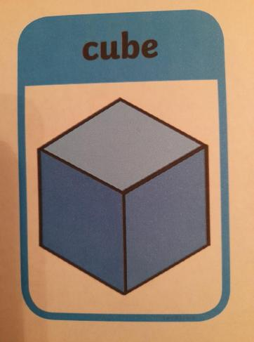 A cube has 8 corners and 6 square faces