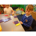 Showing hundreds, tens and units