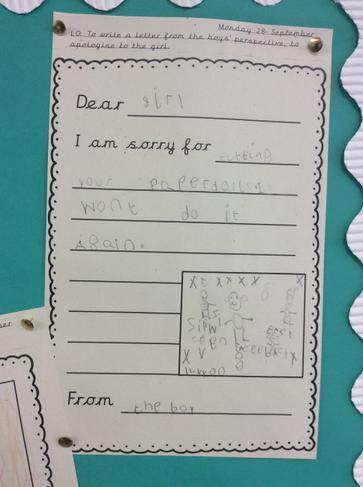 Ashton's letter