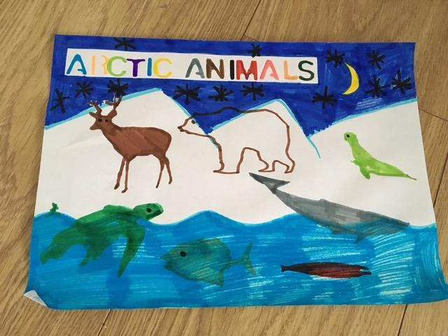 Alfie's glorious artwork! :)