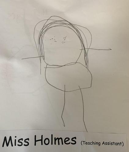 Miss Holmes - Teaching Assistant