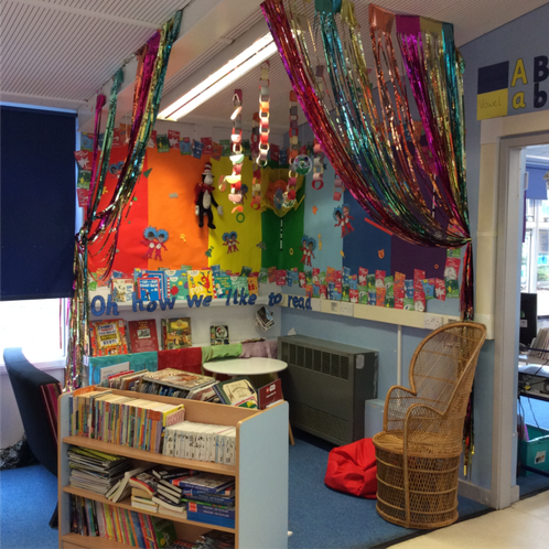This is our Reading Corner
