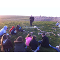 Evening worship on Holy Island