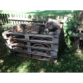 The children loved building their own bug hotel.