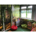 In Class 2 they have gone for a woodland theme.
