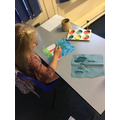 Beginning our summer paintings