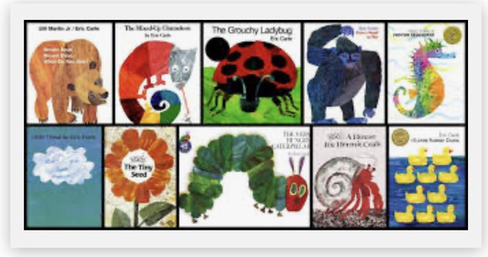 Stories by Eric Carle