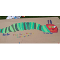 Isaac- a Very Hungry Caterpillar.